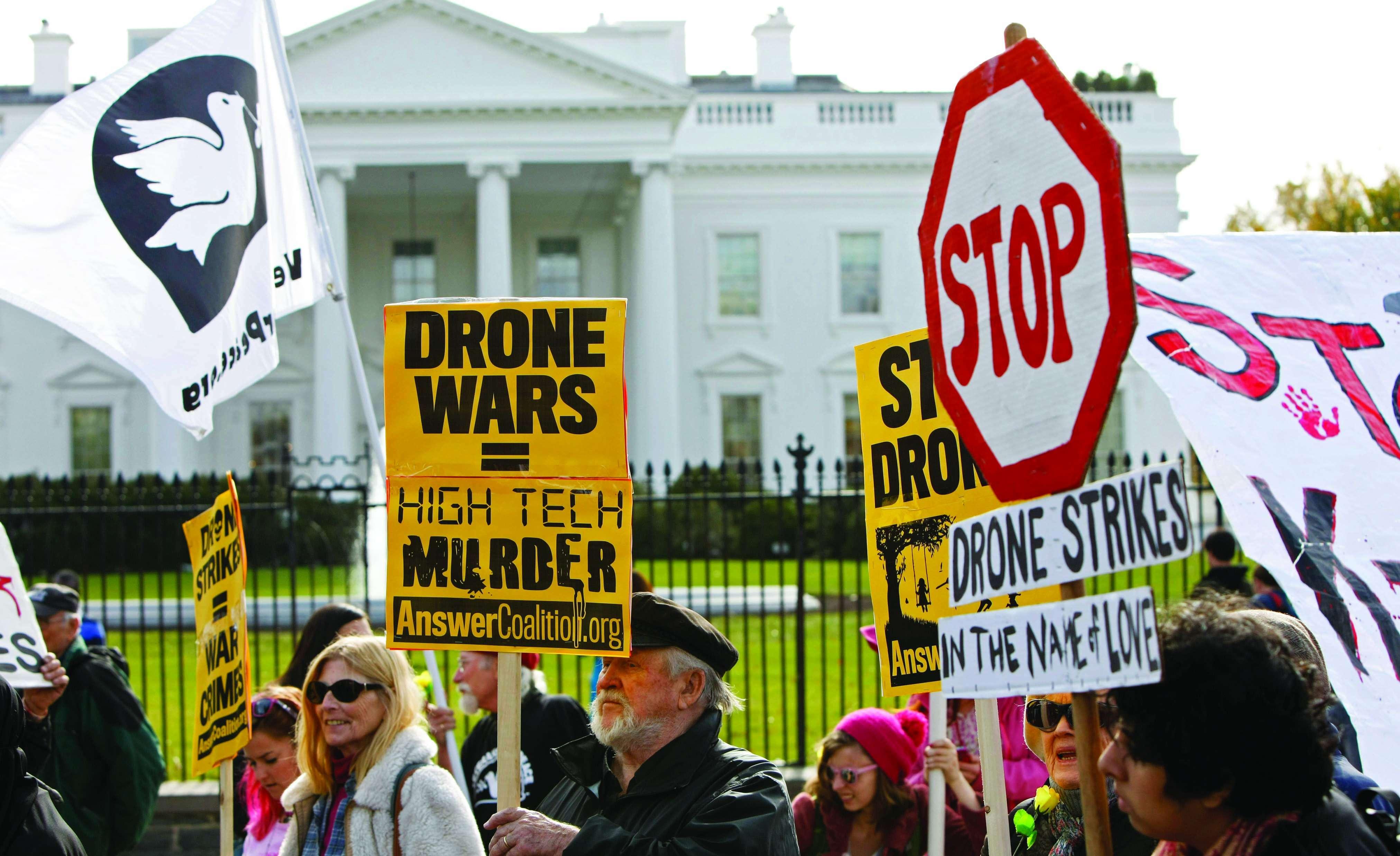 Anti-war rally, Washington D.C., November 2013