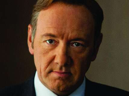 Kevin Spacey, starring as Frank Underwood, in Netflix's hit drama House of Cards.