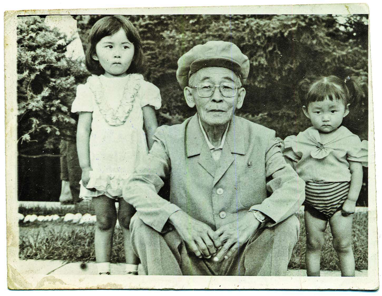 Snapshots from Yeonmi Park's childhood
