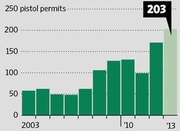 Newtown gun permits