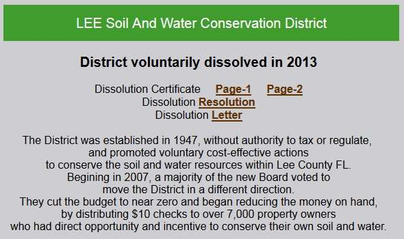 Lee Soil and Water Conservation Commission