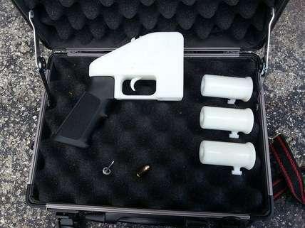 3D printed Liberator pistol