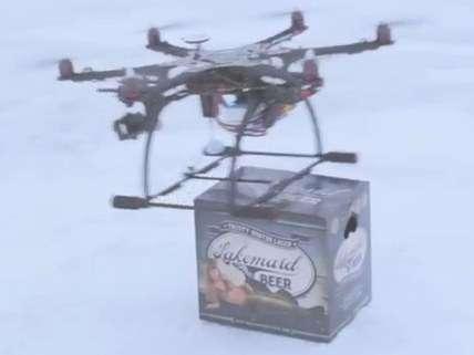 Drone beer