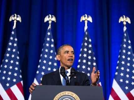 Obama spinning NSA surveillance