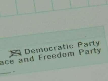 Pre-marked voter registration