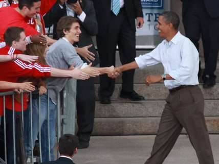 Obama at University of Wisconsin