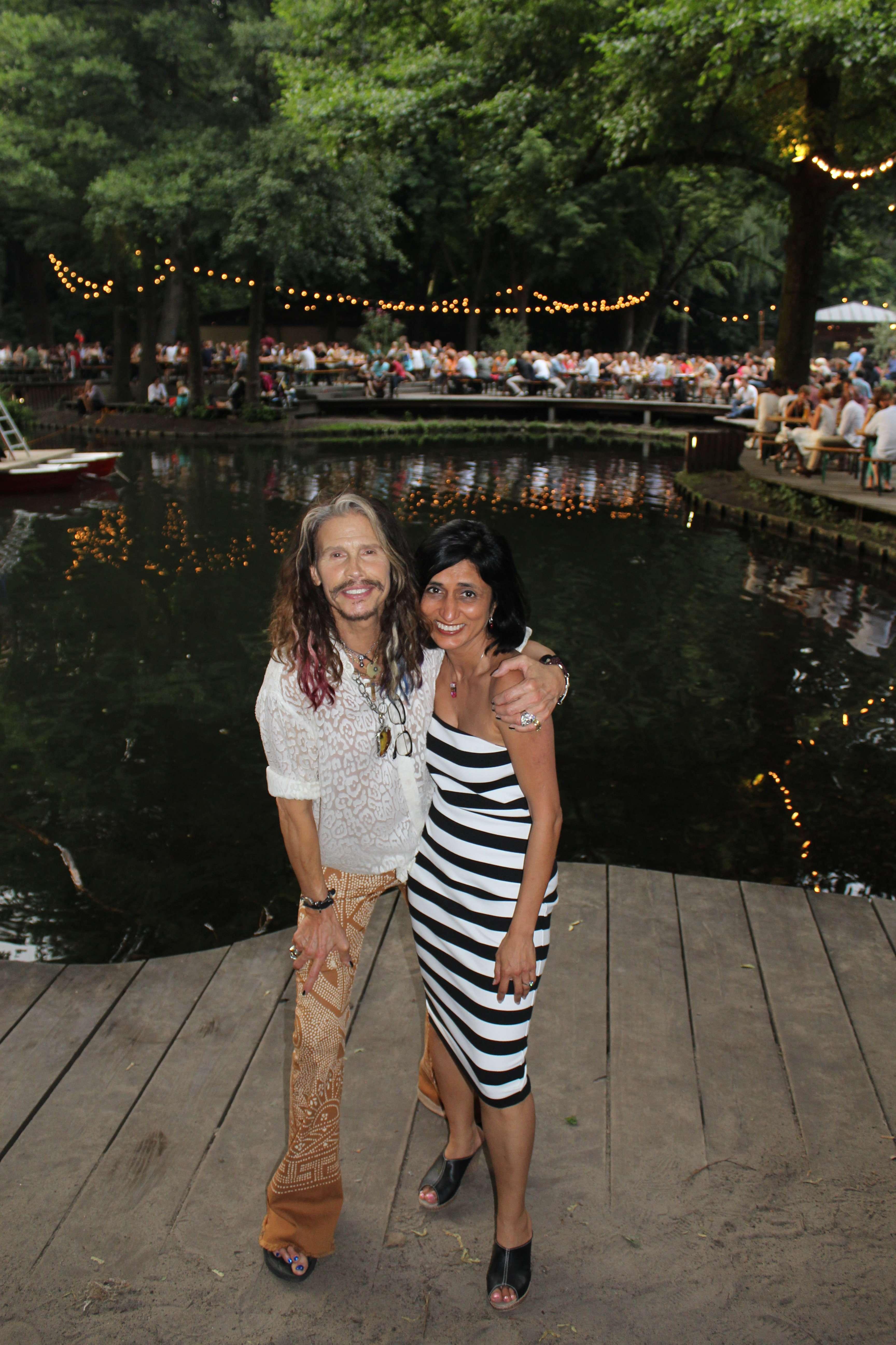 Shikha and Steven Tyler