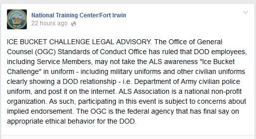 Usually official military advisories contain many more acronyms.