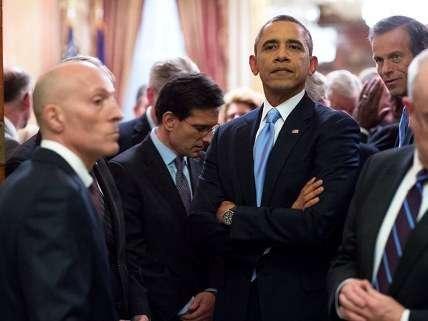 Obama sulk
