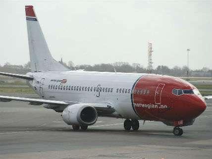 A Boeing Norwegian Air shuttle.