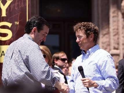 Rand Paul and Ted Cruz