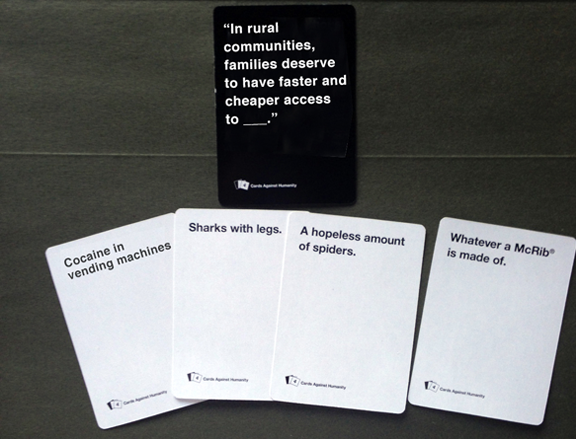 Cards Against Humanity SOTU