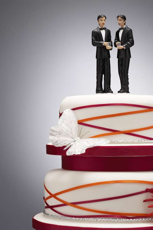 Is this cake also making a statement about clone marriage?
