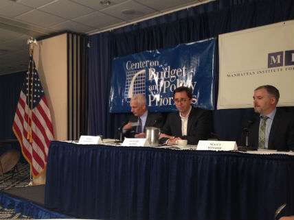 Bernstein, Reeves, Winship at the National Press Club