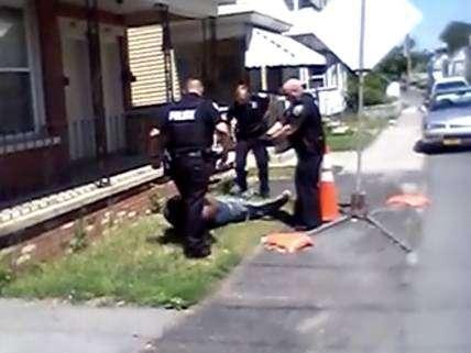 Schenectady police Tase, pepper-spray man after alleged jaywalking