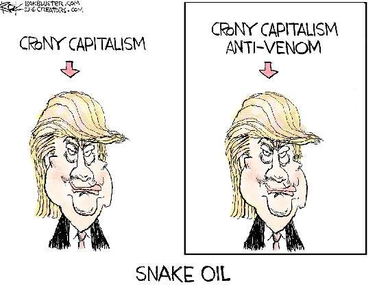 Donald Trump Crony Capitalism