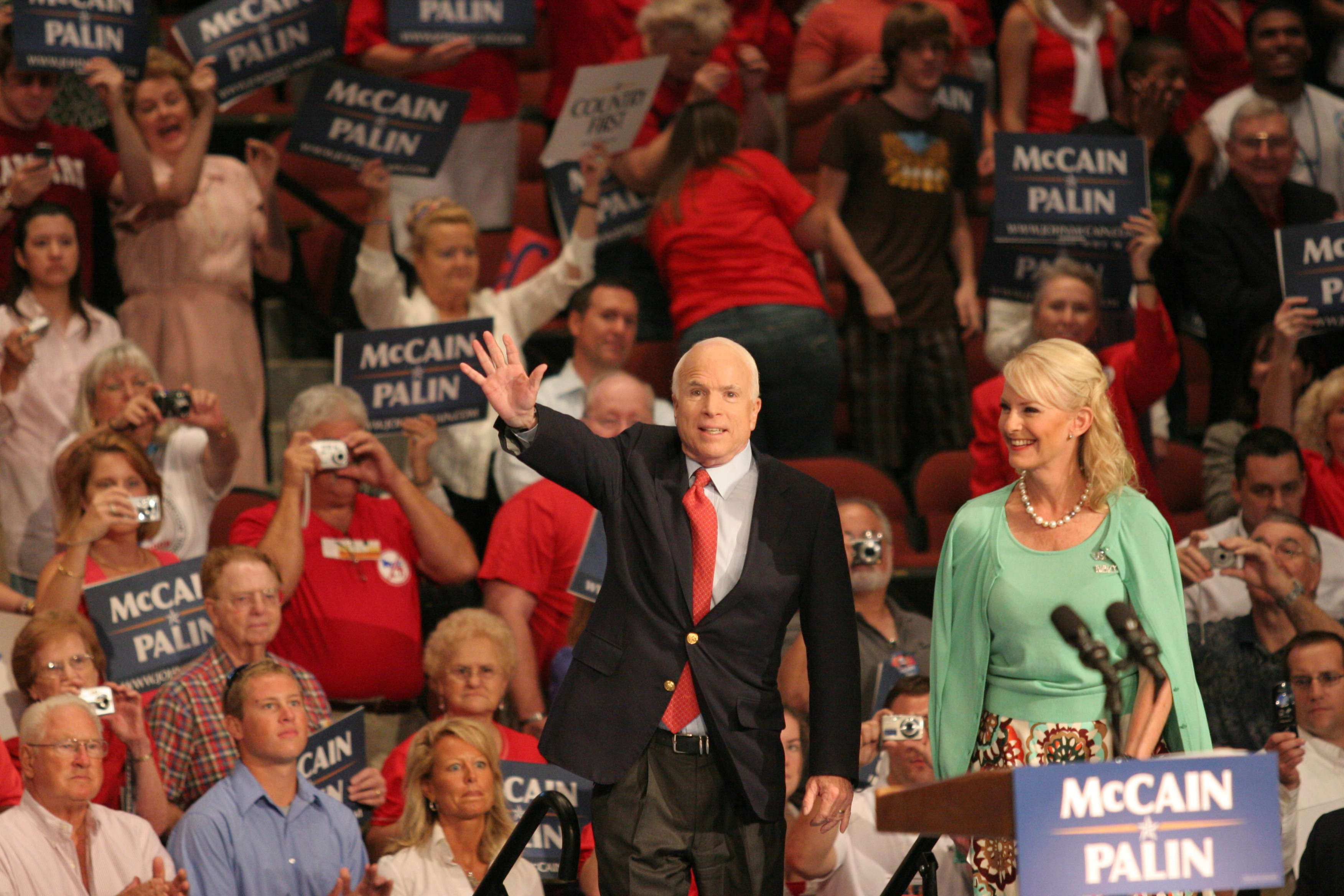 John McCain at the 2008 Republican convention