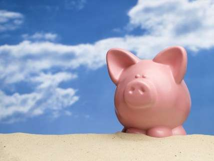 """""""Surely they don't have stock art of a piggy bank in the desert … OMG!"""""""