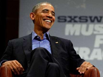 Barack Obama at SXSW 2016