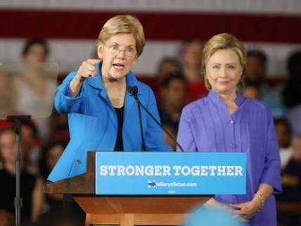 Clinton and Warren