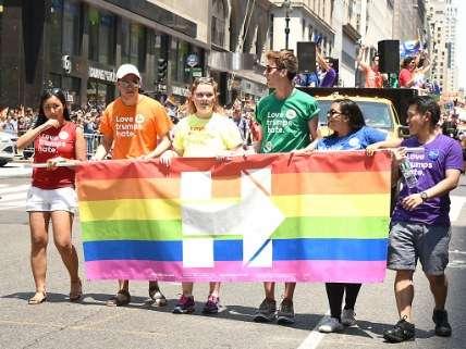 Gay Pride Clinton Banner