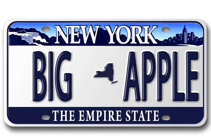 NY plates