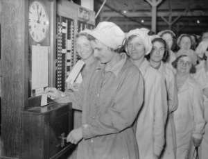 Munitions workers