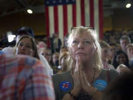Clinton campaign rally in Akron, Ohio