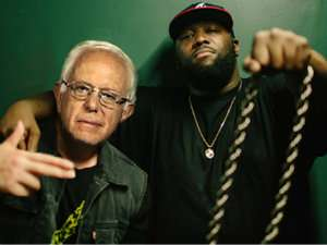 Killer Mike and Bernie Sanders
