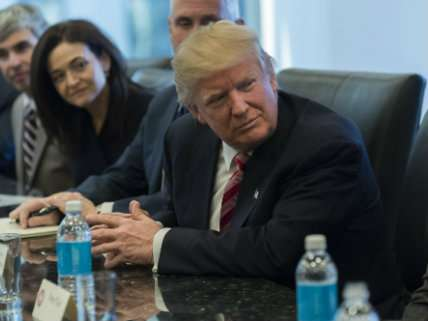 Donald Trump meets with tech leaders at Trump Tower December 14, 2016