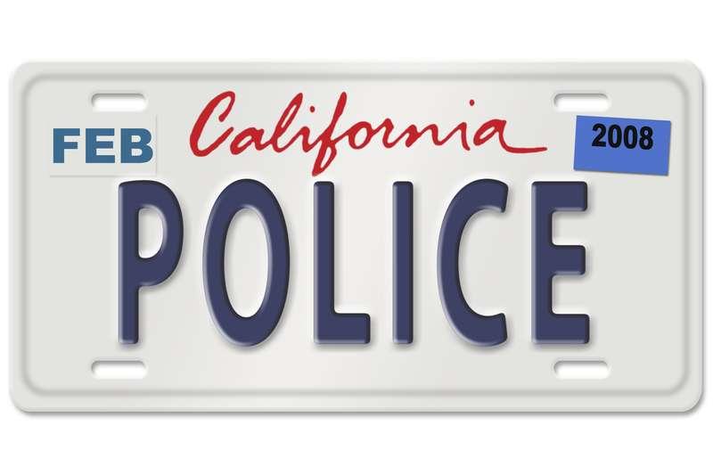 California plates