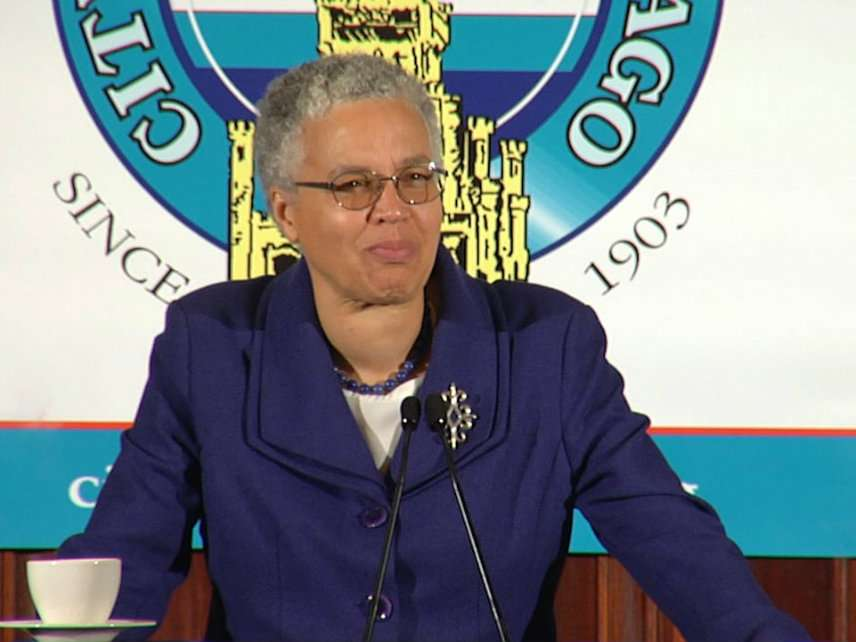 Cook County Commission President Toni Preckwinkle