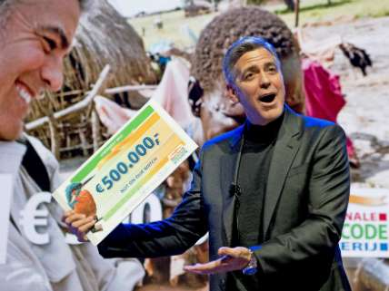 George Clooney Attends Good Money Gala