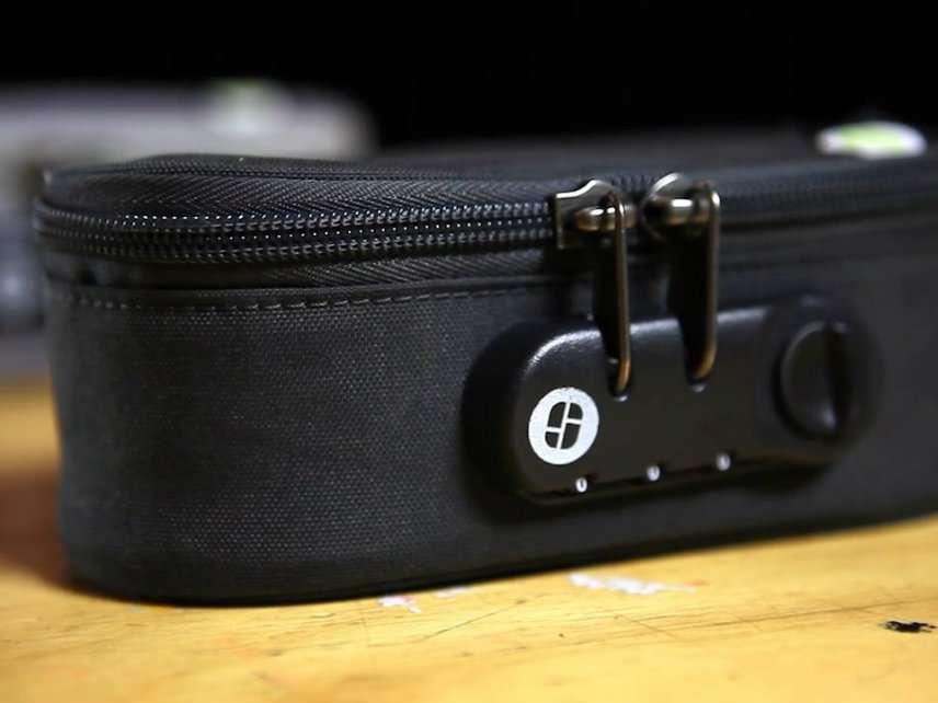 U S  Customs Seizes Combination Locked Travel Bags as Drug