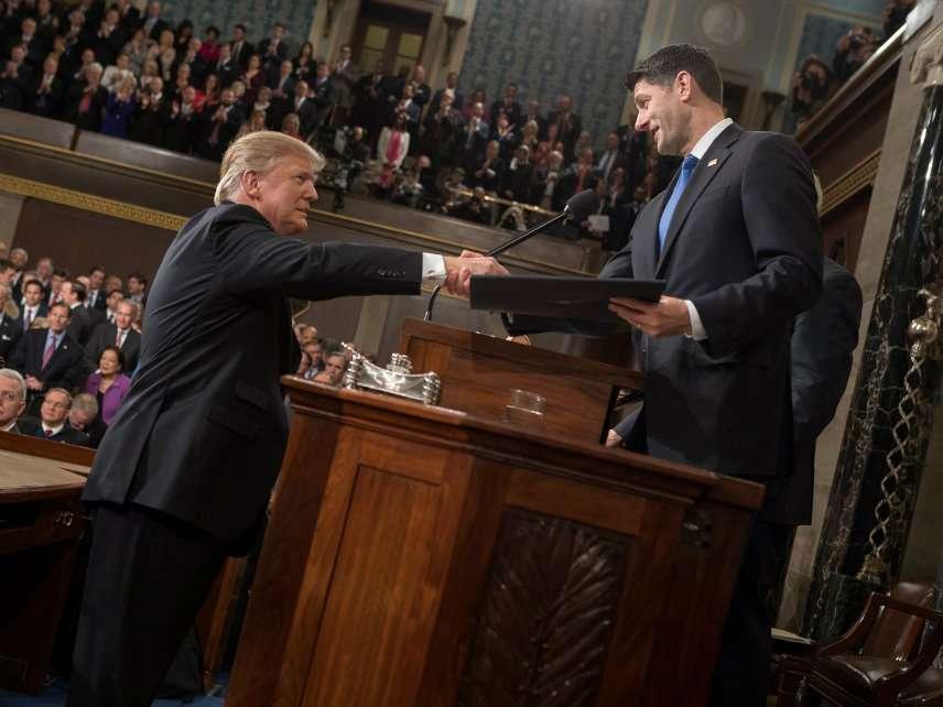 President Trump and House Speaker Paul Ryan