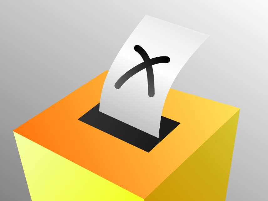 A voting box