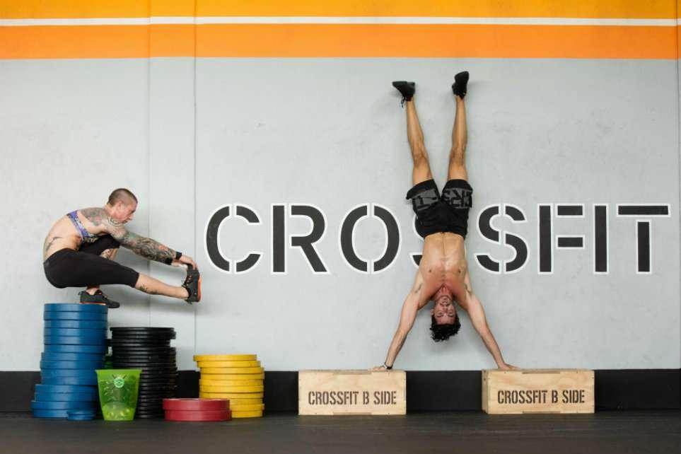 A CrossFit gym in Verona, Italy