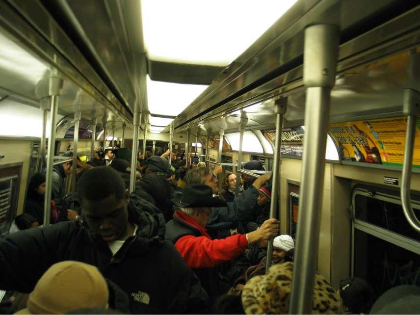 Car interior 7 train