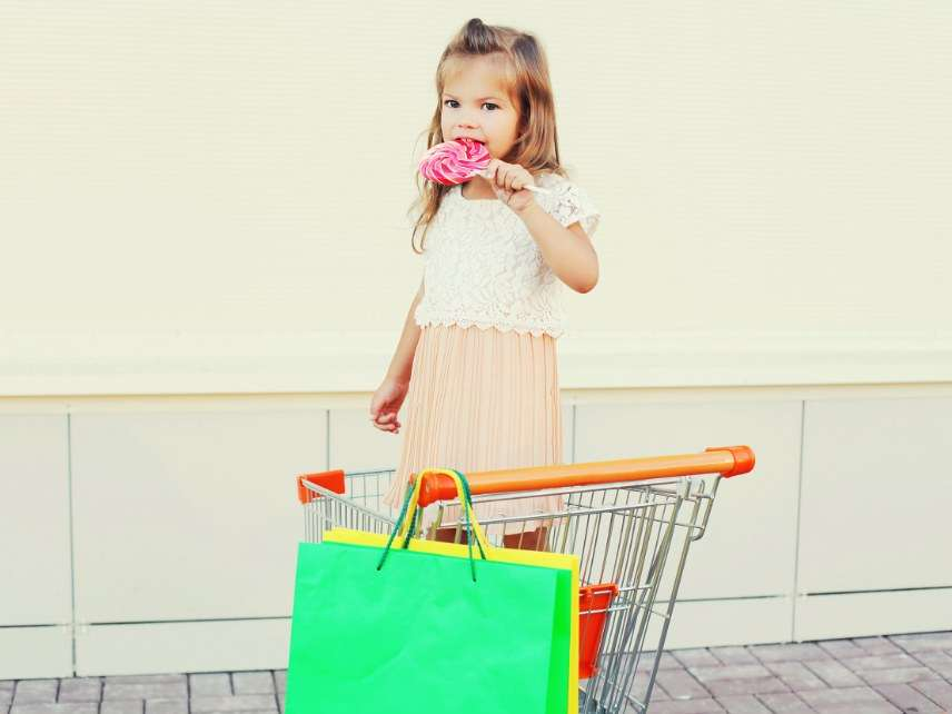 Child shopping cart