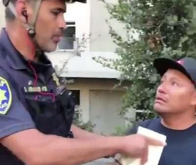 hot dog cop
