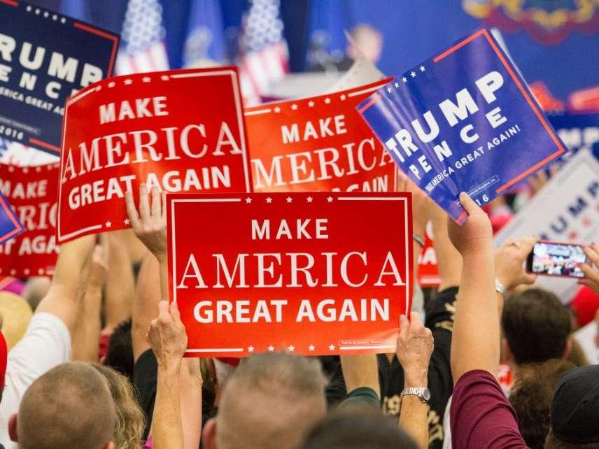Trump signs