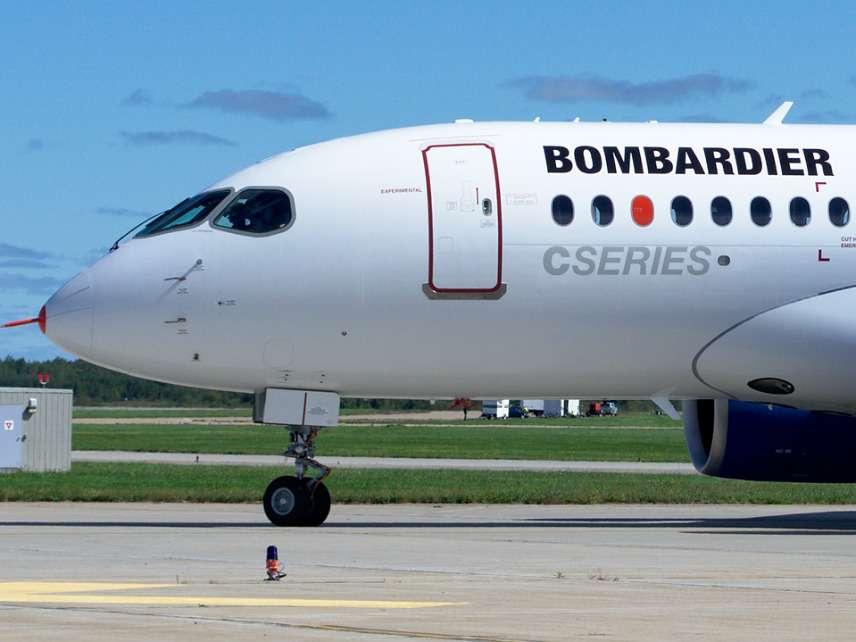 Bombardier C-Series Plane