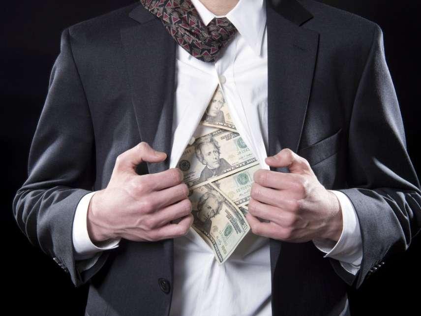 Stolen cash