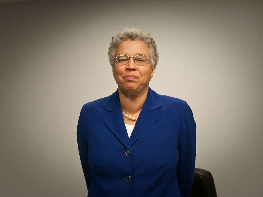 County Commission President Toni Preckwinkle