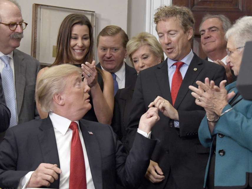 Donald Trump and Rand Paul