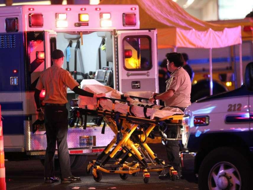Las Vegas ambulance