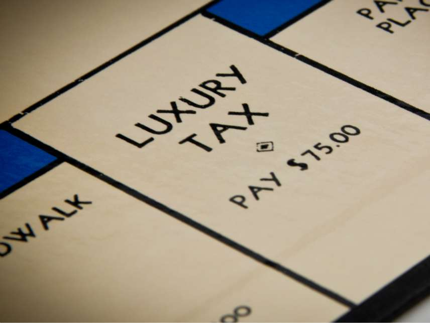 Monopoly luxury tax