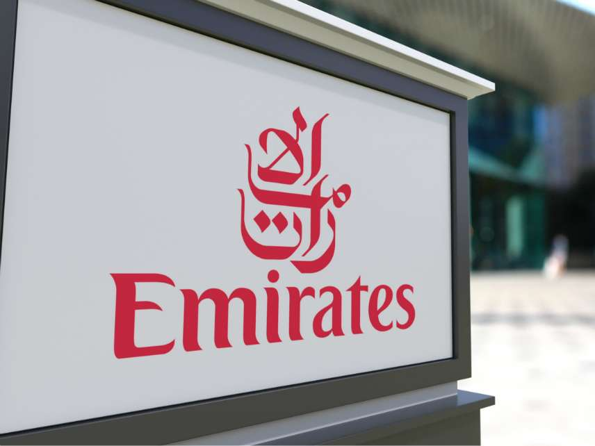 Emirates sign