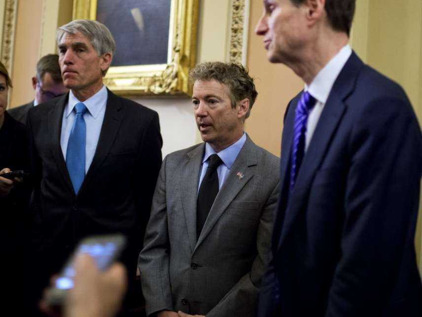 Sens. Rand Paul and Ron Wyden