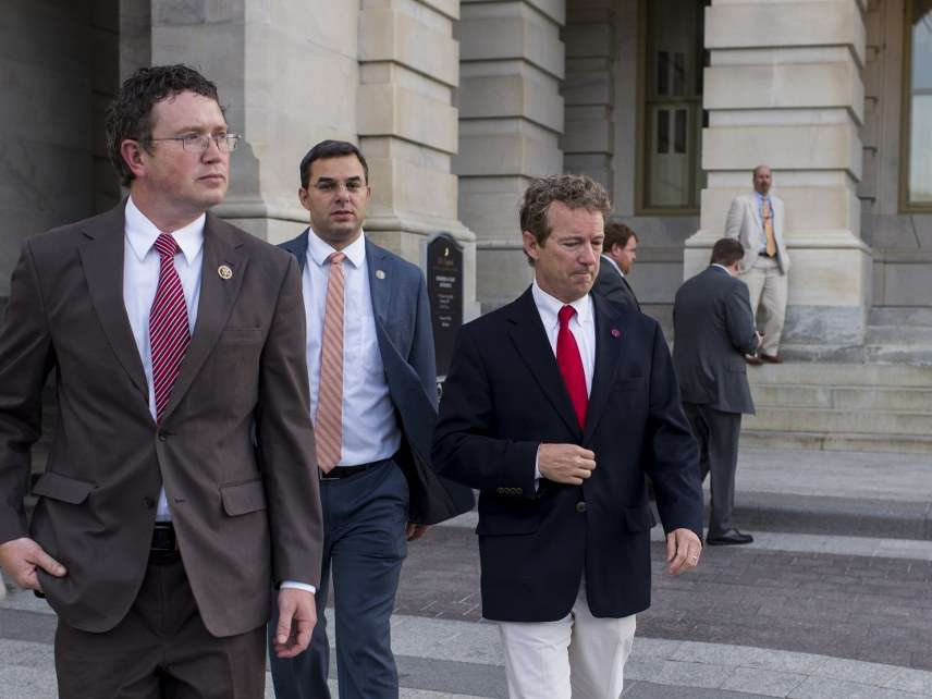 Thomas Massie, Justin Amash, Rand Paul